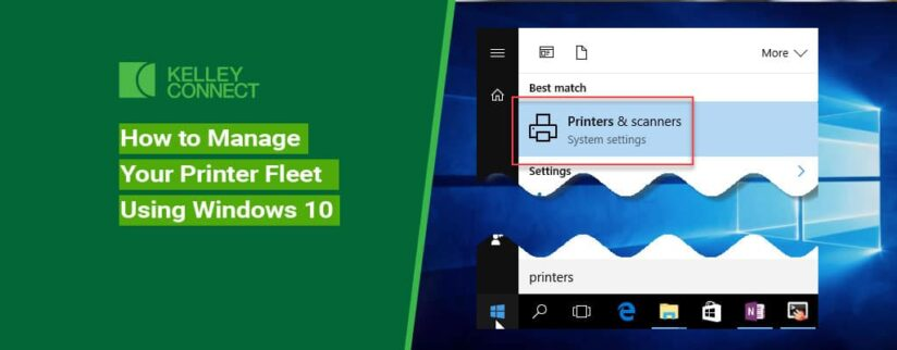 How to Manage Your Printer Fleet Using Windows 10